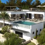 Stylishly Modern Luxury Villa With Stunning Sea Views Close To Puerto Portals