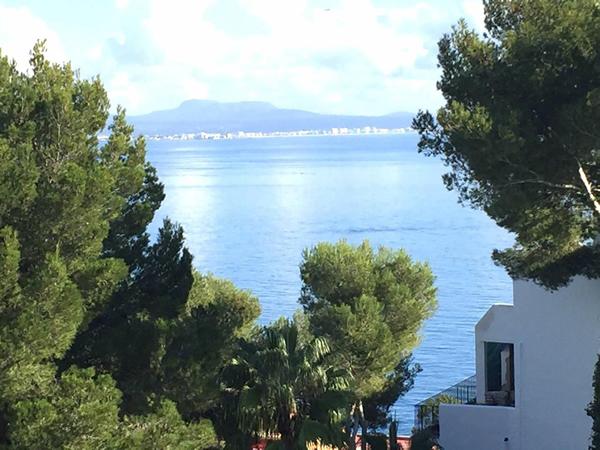 Sea views one bedroom apartment for rent in Illetes Palma de Mallorca