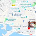 Triplex apartment for rent in the Historic Center of Palma – Calatrava