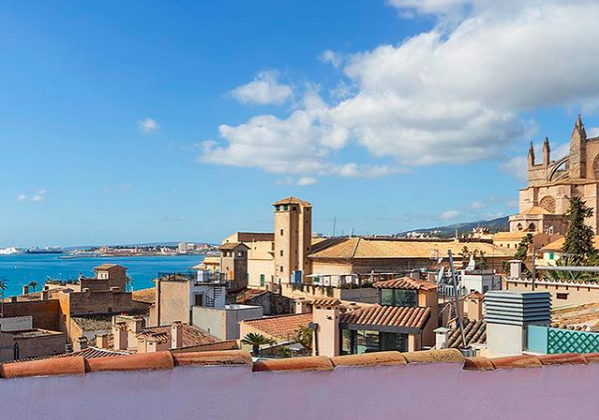 palma, for sale, apartment, calatrava, 2 bedrooms, sea views, cathedral, terrace