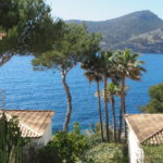 Rent: Frontline villa in Camp de Mar Majorca with stunning sea views and direct sea access