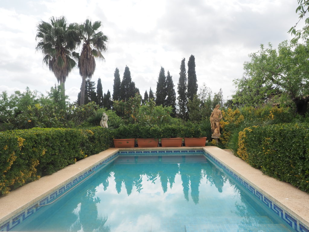 Finca with Cedula in Bunyola – Santa Maria, with pool, gardens, fruit trees