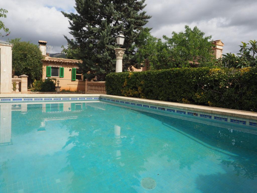Finca rústica con casa in zona Bunyola - Santa Maria del Cami Mallorca, piscina, jardin, arboles frutales