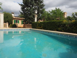 Rustic house (finca) near the village – Bunyola area – Santa Maria del Cami with pool, garden, fruit trees and lots of potential!