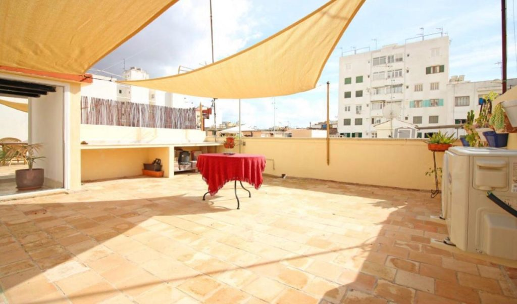 penthouse with private 40m2 terrace close to Santa Catalina